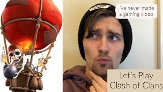 Let's Play Clash of Clans! #1 TH5/TH9 Attacks