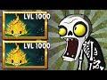 Plants vs Zombies 2 Mod : All Team Plants Bombard-mint vs Zombot Fight!