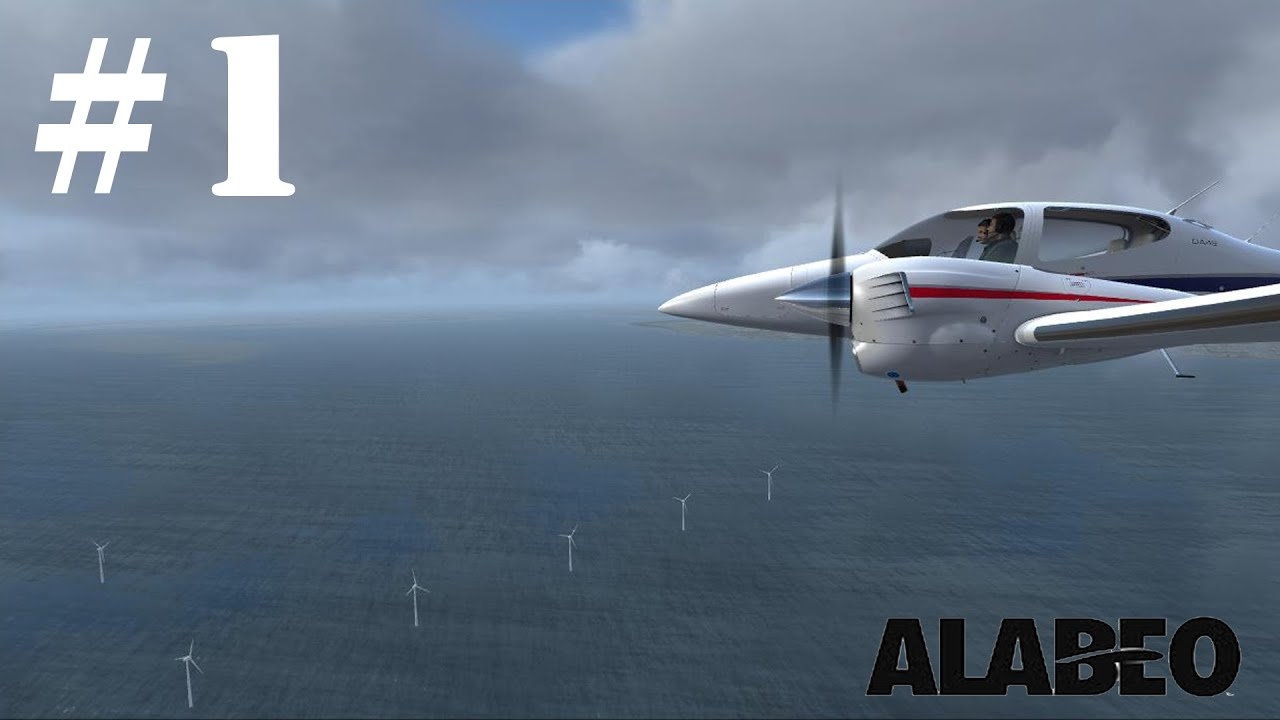[FSX] Alabeo DA42 Twin Star Free Flight EGSX