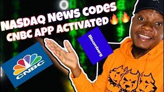 HOW TO TRADE NASDAQ NEWS WITH CNBC APP(NEWS CODES ACTIVATED) - FUNDAMENTALS OF NASDAQ