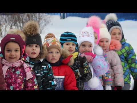 Снежные игры и забавы 2017 гр2