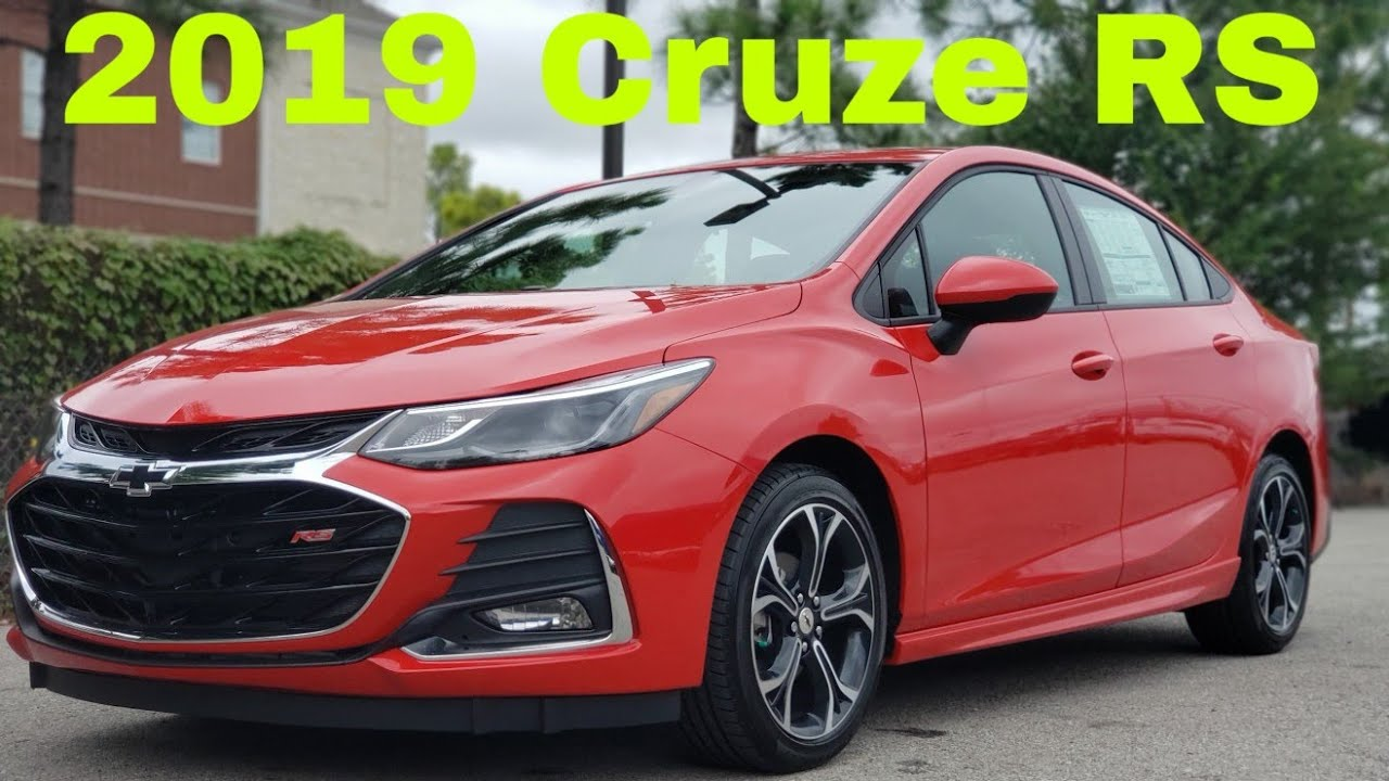 2019 Chevrolet Cruze Rs Youtube