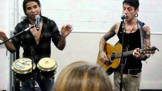 Black Tide covering Bee Gees- More then a woman acoustic