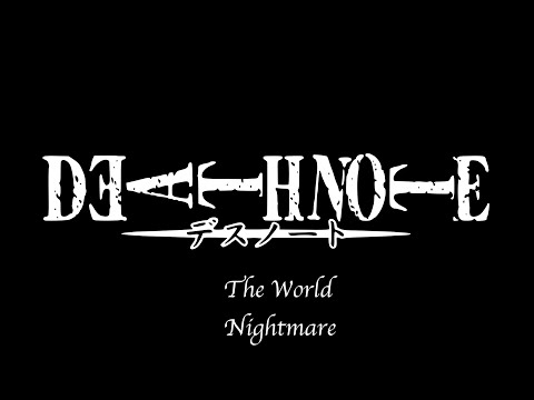 The world - Nightmare (Lyrics Short ver.)
