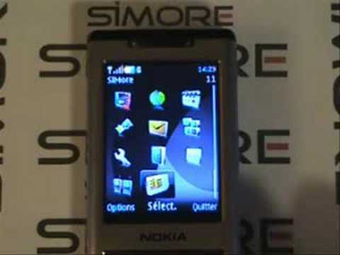 Nokia 6500 Slide - Dual SIM Card adapter Simore Type 2 for Nokia 6500 Slide
