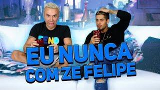 Eu Nunca com Zé Felipe | #HottelMazzafera