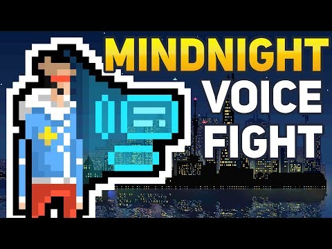 LET'S HACK: Mindnight Hacker Voice Battle Matches (Cyberpunk Pixel Art Game)