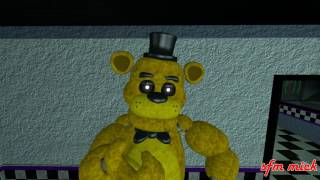 [SFM FNAF] we are number one but it's golden freddy