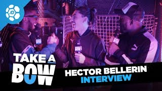 Hector Bellerin Talks Hair, Rob Holding's Music Selection, Bukayo Saka & More | Take a Bow Live