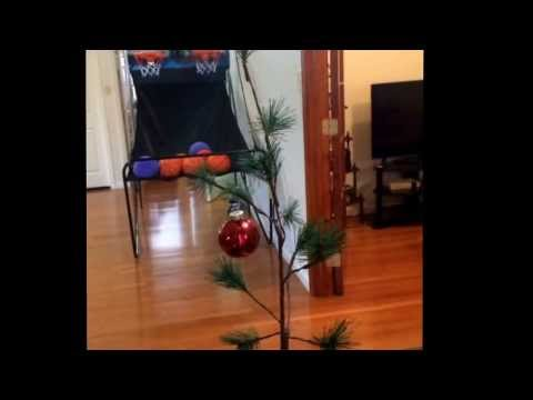 Charlie Brown Christmas tree with music