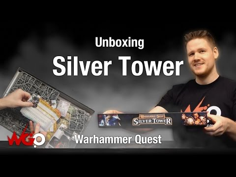 Games Workshop Warhammer Quest Silver Tower