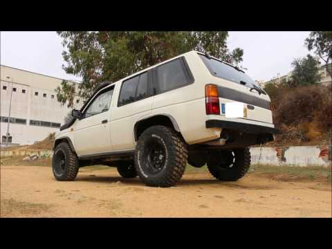 Nissan Terrano 2.7TD Exhaust Sound