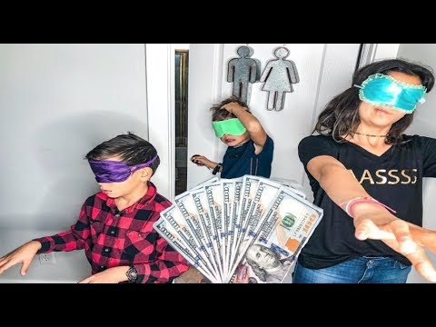 Last to TAKE OFF BLINDFOLD wins $1,000!!!