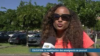 La mobilisation dans l'éducation ne faiblit pas !