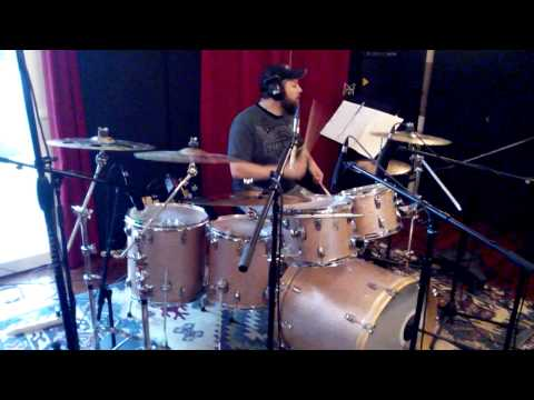 Ricky Roma recording session drum for Umberto Tozzi @Over studio Cento (FE)