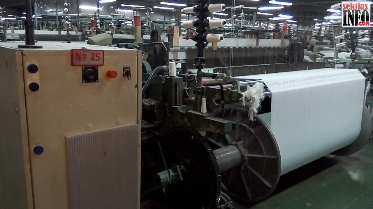 Picanol Gamma - Fabric/Textile Weaving Machine | Mesin Tenun ...