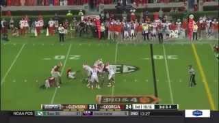 UGA vs Clemson 2014 Highlights