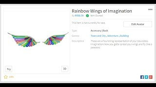 Download Videoaudio Search For How To Get Rainbow Wings Of - how to get the rainbow wings in roblox