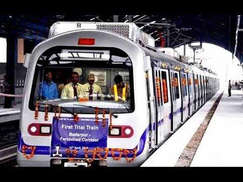 PM Modi flags off Ballabhgarh section of Delhi Metro, 530 Cr. Budget