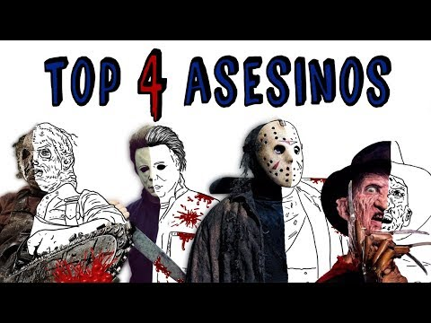 TOP ASESINOS DE CINE | Draw My Life 🔪 Freddy Krueger vs Jason vs Michael Myers vs Leatherface