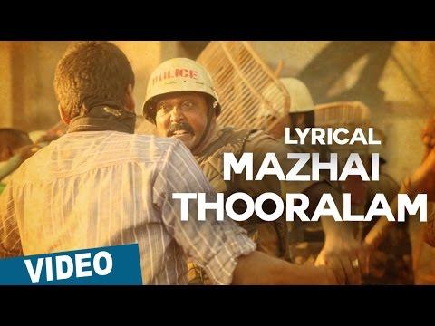 Mazhai Thooralam Song with Lyrics | Sethupathi | Vijay Sethupathi | Nivas K Prasanna