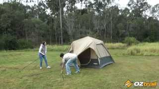 oztrail fast frame tent series 240 300 set up