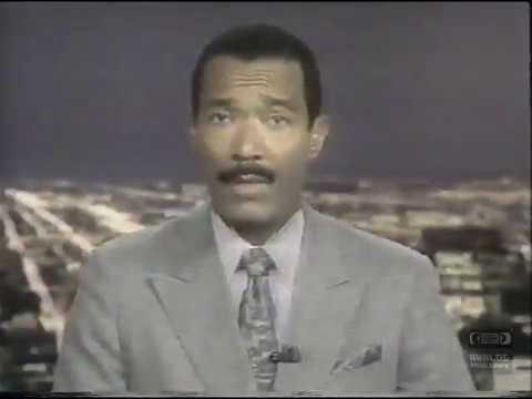 WGN 9 Chicago News | Promo | 1991 | Robert Jordan