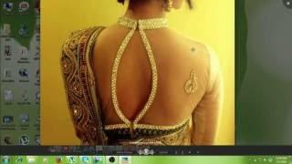 Prasanta Blouse Design D /Make Fashion Tutorial part 1 of 3