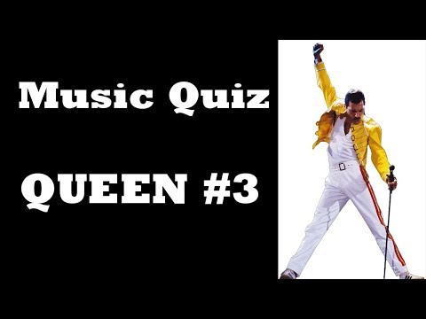 Music Quiz - Queen #3 (HARD LEVEL)
