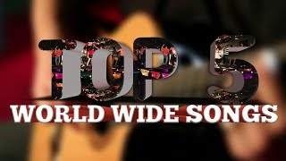 WORLD TOP 5 SONGS HITS OF EACH YEAR 2015-2017| BEST SONGS IN THE WORLD