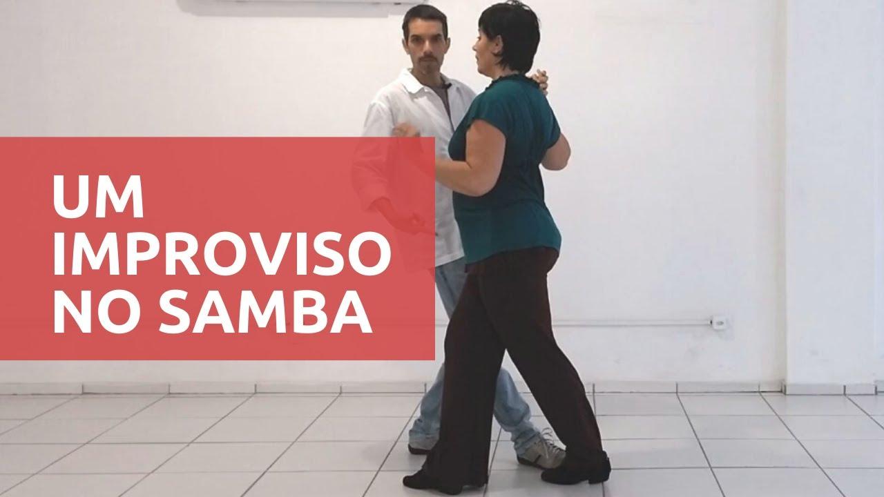 Como Disfarçar o Erro | Improvisando e Continuando a Dança ⚫ Samba de Gafieira ⚫