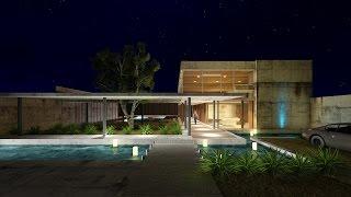 Lumion 6 Rendering Tutorials #20 - Modern House (3D Warehouse)