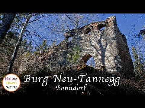 Burgruinen Deutschland - Burg Neu-Tannegg (Burg Bonn) - Bonndorf - Schwarzwald - Baden-Württemberg