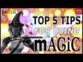 Infinity Blade 3: TOP 5 MAGIC TIPS!