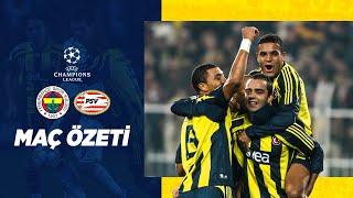 MAÇ ÖZETİ: Fenerbahçe 2-0 PSV Eindhoven (Şampiyonl
