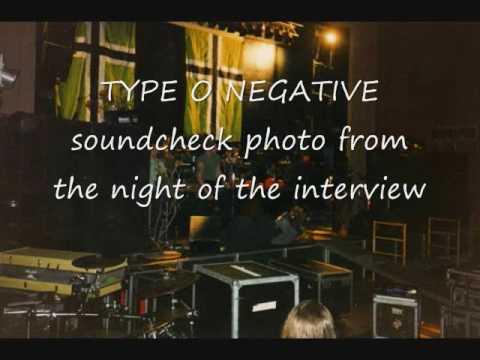 PETER STEELE Type O Negative 98 WBUZ BUZZ interview ZMAN & BILL STEELE ROE