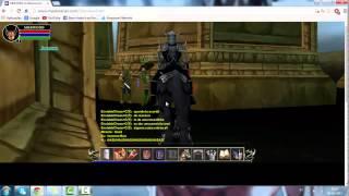 MMORPG Sherwood Dungeon Gameplay