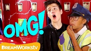 Boy Band Billy Meets the Hall C.O.P.S. | OMG on Go90