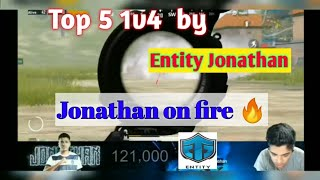 Entity JONATHAN TOP 5 CLUCHES • JOHNATHAN ON FIRE • BATTLE ROYALE WARRIORS