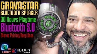 #GravaStar Bluetooth Speaker 🔊 : #LGTV Review