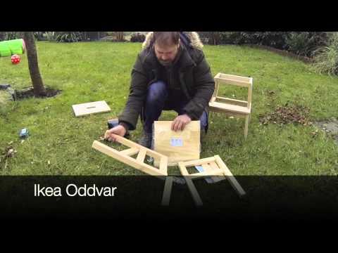 lerntower selber bauen kinderhochstuhl youtube. Black Bedroom Furniture Sets. Home Design Ideas