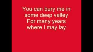 Soggy Bottom Boys - I Am A Man Of Constant Sorrow - Lyrics