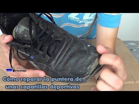 a57dd720f5 Cómo reparar la puntera de unas zapatillas deportivas - YouTube