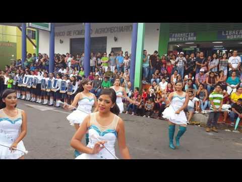 Banda Guadalupe Carcamo. Festival del jocote de corona San Vicente 2016