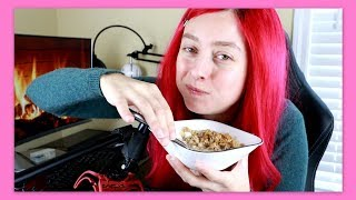 ASMR Eating Crunchy Cereal & Stomach Growling Rumble Sounds / Mukbang