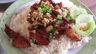 Breakfast With My Team, Fried Pig Meat And Rice | Phnom Penh Street Food