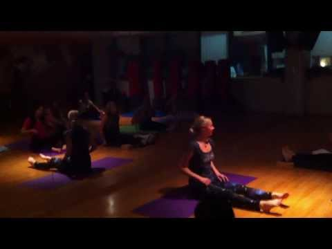 Ethnic Fitness CLUB 10/1/14 Marita Mittag Vinyasa Yoga