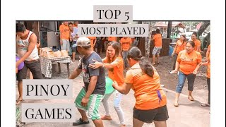 #parlorgames - Pinoy most played games
