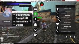 Roblox Sword Art Online: Burst : What is inside the INV! on Atl Account