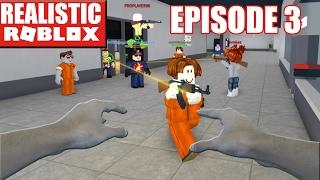 REALISTIC ROBLOX - ESCAPING ROBLOX PRISON IN REAL LIFE! Escaping From Prison Roblox In Real Life